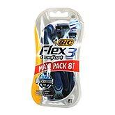 Bic Flex 3 - Rasoirs Comfort 3 lames la boite de 8 - Maxi Pack