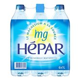 eau minerale hepar 6x1l