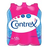 eau minerale naturelle contrex 6x1.5l