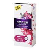 Always Discreet Protège-slips pour fuites urinaires Liners la boite de 22