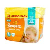 Couches sleep&play Pampers T5 Jumbo - x60