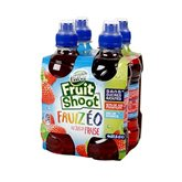 FRUIT SHOOT, Fruizeo fraise, 4 bouteilles en plastique de 27,5cl