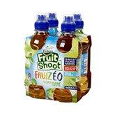 FRUIT SHOOT Fruizeo, pomme, 4 bouteilles en plastique de 27,5cl
