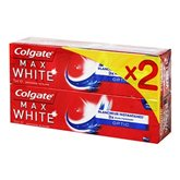 Colgate Max White - Dentifrice Optic les 2 tubes de 75 ml
