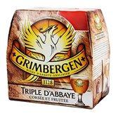 Bière Grimbergen triple Abbaye 6x25cl