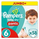 58 pièces - Babydry pants jumbo + T6