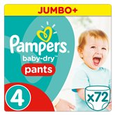 Culottes Pampers Baby Dry Pants T4 Jumbo + - x72