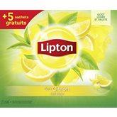 Lipton thé vert citron 50 + 5
