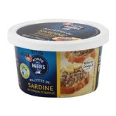 Rillette sardine Ronde des Mers Citron/Basilique - 125g