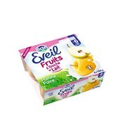 Jus touche de lait Eveil Pomme poire - 4x100g