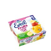 Jus touche de lait Eveil Pomme fraise - 4x100g