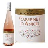 Cabernet d'Anjou Vin rosé Les Caractères  AOC - 75cl