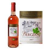 Terrasses d'Autan Vin rosé  Bergerac Bio AOC - 75cl