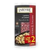 Labeyrie Lardons de canard  Fumés 2x120g