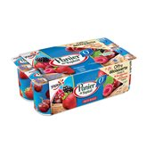 Yoplait Yaourt 0% Panier de Yoplait Fruit rouges - 8x125g