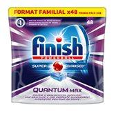 Finish Tablettes lave-vaisselle  Quantum max - x48