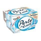 Yoplait Yaourts Perle de lait Yoplait Nature - 8x125g