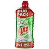 Ajax Nettoyants  fête des fleurs Muguet - 2x1.25l