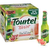 Tourtel Twist bière sans alcool Agrumes - 12x27.5cl