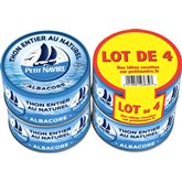 Petit Navire Thon naturel  4x93g