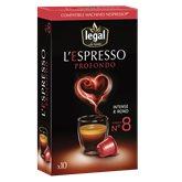 Legal Café L'espresso n°8  Profondo x10 - 50g