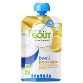 Good Goût Brassé banane citron Good Goût Dès 6 mois bio - 90g