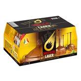 Meteor Pils Bière blonde Meteor Lager 5%vol. - 24x25cl