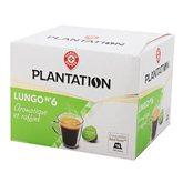 Nescafé Café en capsule Plantation Lungo - x16 - 99.2g