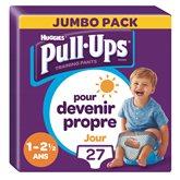 Huggies Culottes Pull-ups Jour Huggies Garçon 1-2.5ans 8/17kg - x27