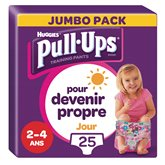 Huggies Culottes Pull-Ups  Jour Fille 2-4 ans 18/23kg -x25