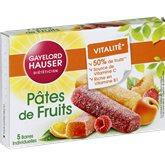 Gayelord Hauser Pâte de fruits Gayelord Hauser 4 parfums - 125g