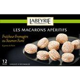 Labeyrie Macarons apéritifs Labeyrie Saumon fumé - 130g