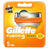 Gillette Lames Fusion 5 Power Gillette x5