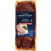 Montfort Magret de canard  Au piment d'Espelette 380g
