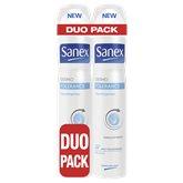 Sanex Déodorant Sanex Dermo Tolérance Spray - 2x200ml