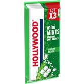 Hollywood Bonbons Mini mints Hollywood Menthe verte - 38g