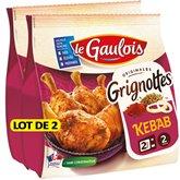 Le Gaulois Grignottes Kebab Le Gaulois 2x 250g
