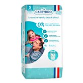 Carryboo Couches écologiques Carryboo Taille 5 Dermo sensitives - x44