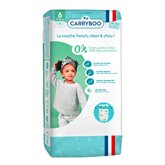 Carryboo Couche écolo T6 Carryboo Dermo-sensitives jumbo - 36p