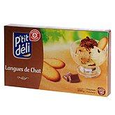 Biscuits langue chat P'tit Déli