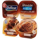 Mousse chocolat au lait Délisse