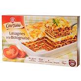 Lasagnes bolognaises Coté table