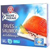 Pavés de saumon Pêche Océan