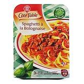 Spaghetti bolognaise Côté Table