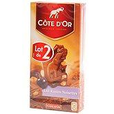 Chocolat au lait Côte d'Or