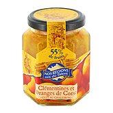 Confiture clémentines oranges