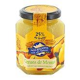 Confiture citron de menton