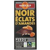 Chocolat Alter Eco Noir amandes