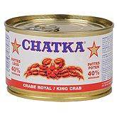 Boite crabe Chatka