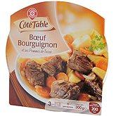 Boeuf Bourguignon Côté Table